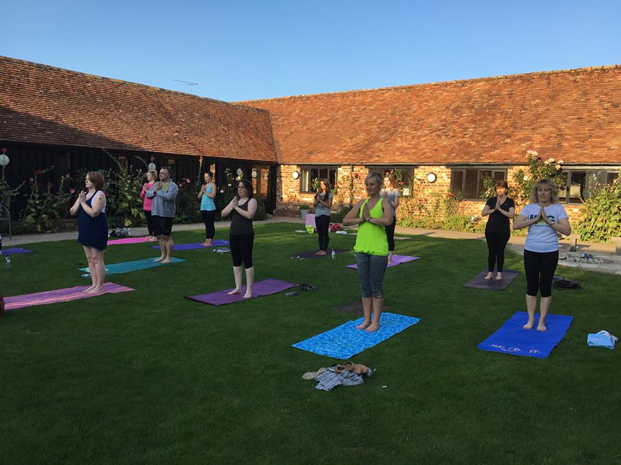 Emma Morgan Yoga, Thame, Oxfordshire